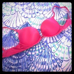 Hot Pink Victoria's Secret Bombshell bra